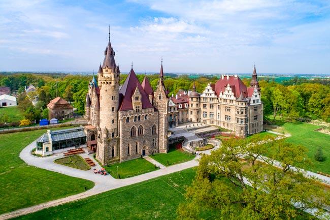 castelos e palácios da Europa