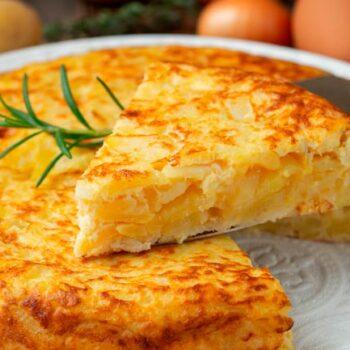 omelete de batata perfeita
