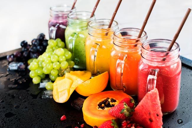 importância dos sumos na sua alimentação