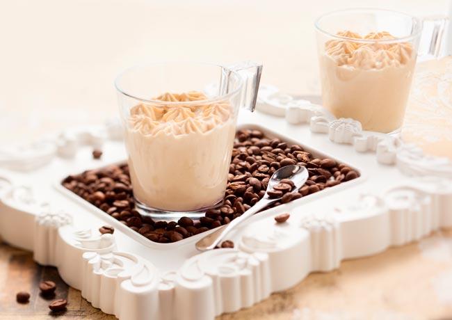 receitas de mousse de café