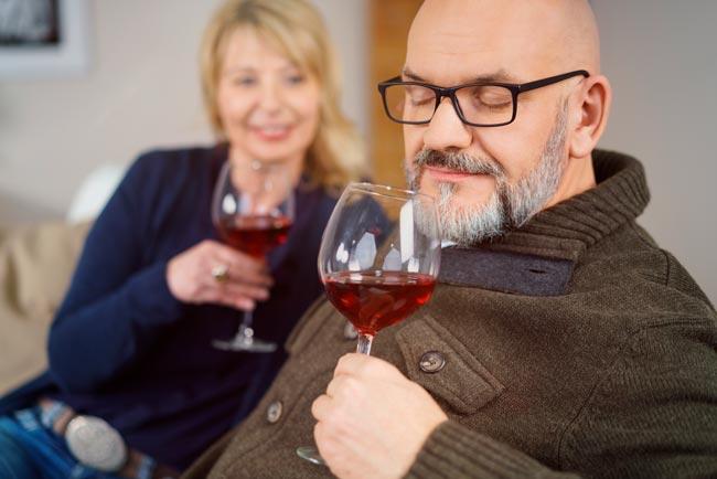 provar vinhos