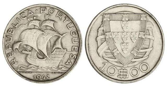 moedas portuguesas valiosas