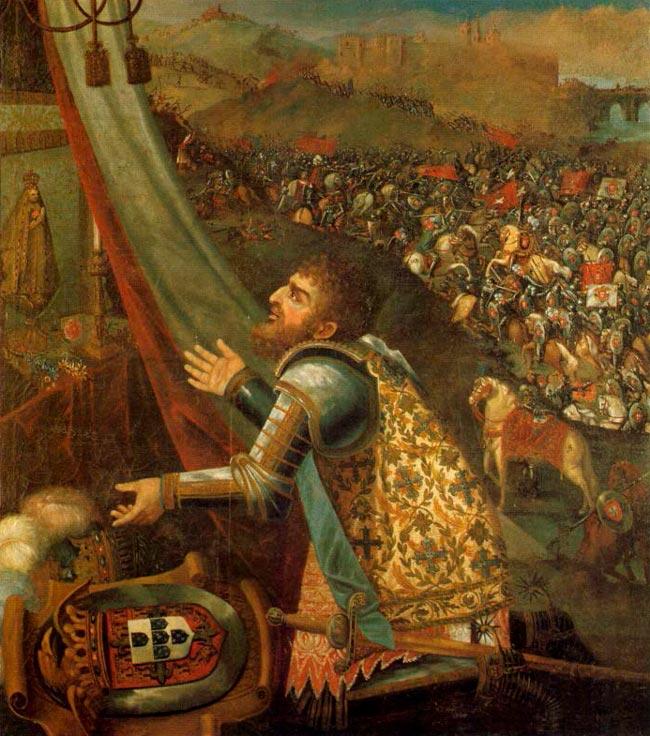 história da épica Batalha de Aljubarrota