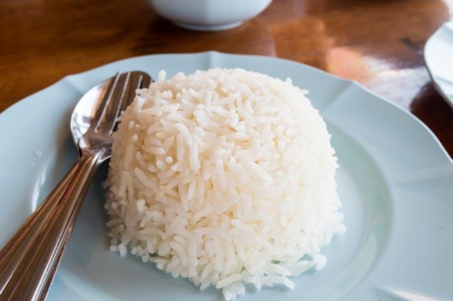fazer arroz branco soltinho
