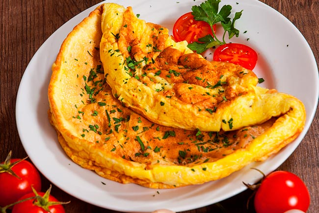 Fórmula mágica para a omelete perfeita