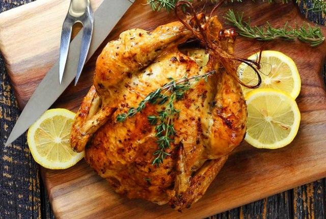 assar frango como um Chef