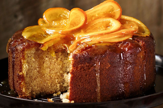 regras de ouro para o bolo de laranja perfeito